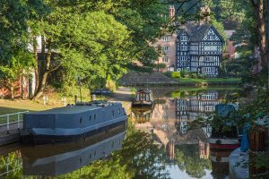 Canal & Boats Worsley