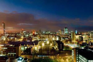 Manchester Skylight at Night